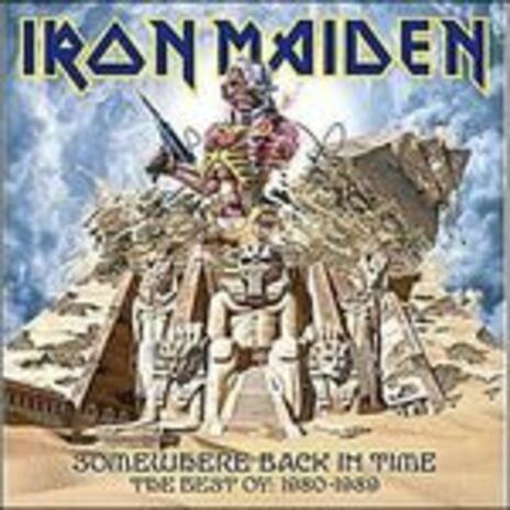 Somewhere Back in Time. The Best of 1980-1989 (Picture Disc Vinyl) - Vinile LP di Iron Maiden