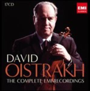 The Complete EMI Recordings - CD Audio di David Oistrakh