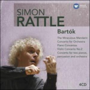 Concerti e musica orchestrale - CD Audio di Bela Bartok,Simon Rattle