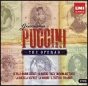 The Operas - CD Audio di Giacomo Puccini