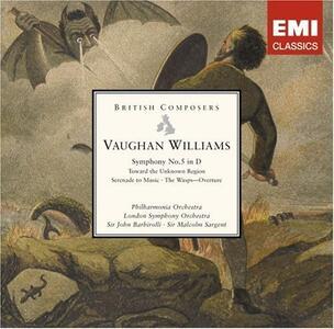 Symphony n.5 - CD Audio di Ralph Vaughan Williams