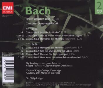 Oratorio Di Natale (weihnachts-Oratorium) - CD Audio di Johann Sebastian Bach - 2