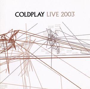 Live 2003 - CD Audio + DVD di Coldplay