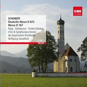 Deutsche Messe - CD Audio di Franz Schubert,Wolfgang Sawallisch,Orchestra Sinfonica della Radio Bavarese