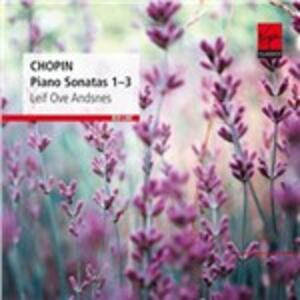 Sonate per pianoforte n.1, n.2, n.3 - CD Audio di Fryderyk Franciszek Chopin,Leif Ove Andsnes