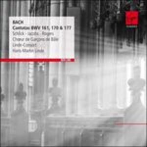 Cantate 161, 170, 177 - CD Audio di Johann Sebastian Bach,René Jacobs,Hans-Martin Linde