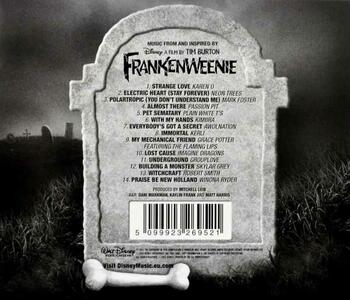Frankenweenie Unleashed (Colonna Sonora) - CD Audio - 2