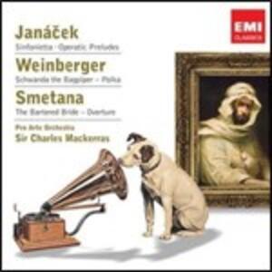 Sinfonietta op.60 - Preludi da opere - CD Audio di Leos Janacek