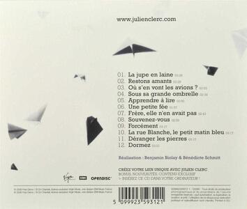 Ou s'en vont les avions? - CD Audio di Julien Clerc - 2