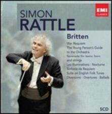 Britten - CD Audio di Benjamin Britten,Simon Rattle