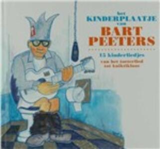 Kinderplaatje Van - CD Audio di Bart Peeters