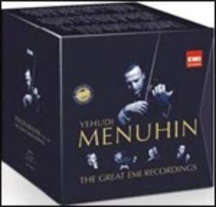 The Great EMI Recordings - CD Audio di Yehudi Menuhin