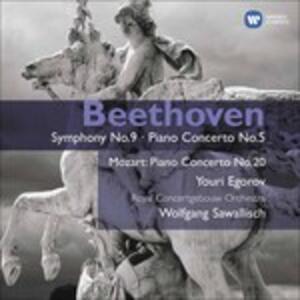 Sinfonia n.9 - Piano Conce - CD Audio di Ludwig van Beethoven