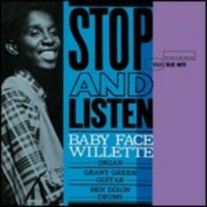 Stop and Listen - CD Audio di Baby Face Willette