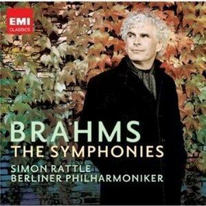 Sinfonie complete - CD Audio di Johannes Brahms,Berliner Philharmoniker,Simon Rattle