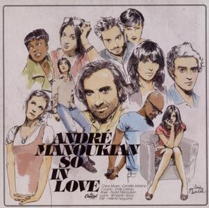 So in Love - CD Audio di André Manoukian