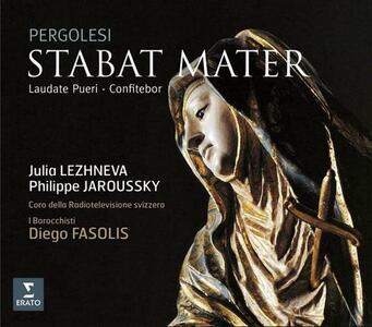 Stabat Mater - Laudate Pueri - Confitebor - CD Audio di Giovanni Battista Pergolesi,Diego Fasolis,Philippe Jaroussky,Julia Lezhneva,I Barocchisti