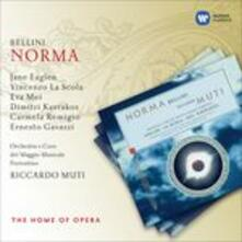 Norma - CD Audio di Vincenzo Bellini,Vincenzo La Scola,Jane Eaglen,Carmela Remigio,Riccardo Muti,Orchestra del Maggio Musicale Fiorentino
