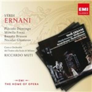 Ernani - CD Audio di Placido Domingo,Mirella Freni,Giuseppe Verdi,Riccardo Muti