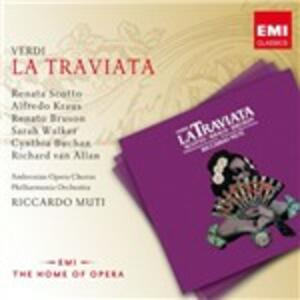 La Traviata - CD Audio di Giuseppe Verdi,Renata Scotto,Alfredo Kraus,Riccardo Muti