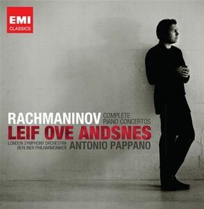Concerti per pianoforte - CD Audio di Sergej Vasilevich Rachmaninov,Berliner Philharmoniker,London Symphony Orchestra,Leif Ove Andsnes,Antonio Pappano