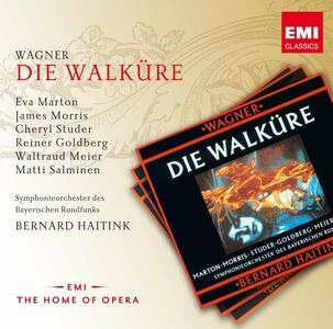 La Valchiria (Die Walküre) - CD Audio di Richard Wagner,Bernard Haitink,Eva Marton,Cheryl Studer,James Morris
