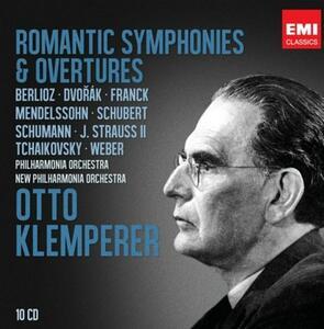 Romantic Symphonies - CD Audio di Otto Klemperer,Philharmonia Orchestra,New Philharmonia Orchestra