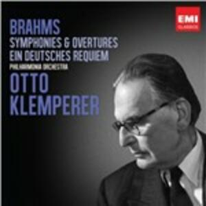 Sinfonie - Ein Deutsches Requiem - CD Audio di Johannes Brahms,Otto Klemperer,Philharmonia Orchestra
