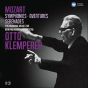 Sinfonie - Serenate - CD Audio di Wolfgang Amadeus Mozart,Otto Klemperer,Philharmonia Orchestra,New Philharmonia Orchestra