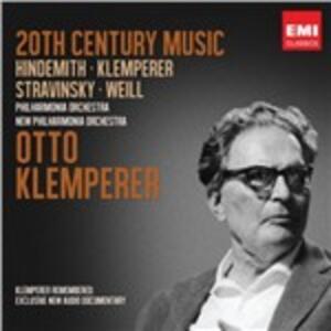 Twentieth Century - CD Audio di Otto Klemperer