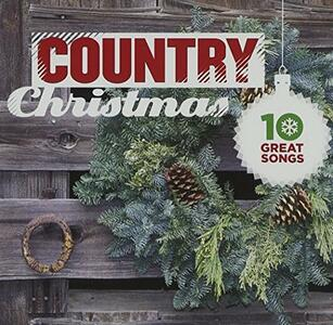 10 Great Country Christma - CD Audio