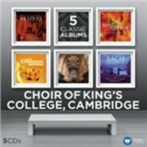 5 Classic Albums - CD Audio di King's College Choir