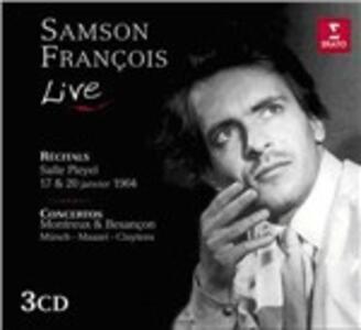 Live Recitals & Concertos - CD Audio di Samson François