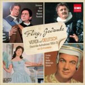 Flieg, - CD Audio di Giuseppe Verdi