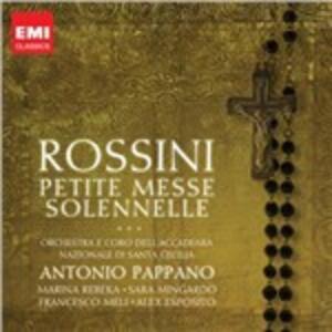 Petite Messe Solennelle - CD Audio di Gioachino Rossini,Antonio Pappano,Orchestra dell'Accademia di Santa Cecilia