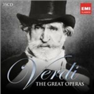 Verdi. The Great Operas - CD Audio di Giuseppe Verdi,Riccardo Muti