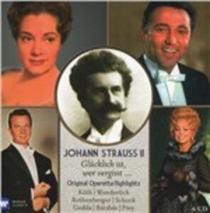 Glucklich Ist - CD Audio di Johann Strauss