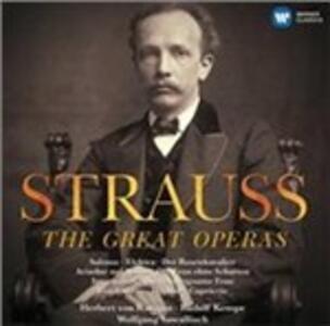 Le grandi opere - CD Audio di Richard Strauss