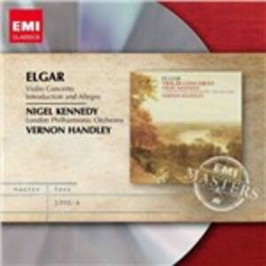 Concerto per violino - CD Audio di Edward Elgar,London Philharmonic Orchestra,Nigel Kennedy,Vernon Handley