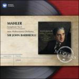 Sinfonia n.5 - CD Audio di Gustav Mahler,Sir John Barbirolli,New Philharmonia Orchestra
