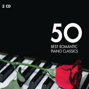50 Best Romantic Piano Classics - CD Audio