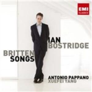 Britten Songs - CD Audio di Benjamin Britten,Ian Bostridge