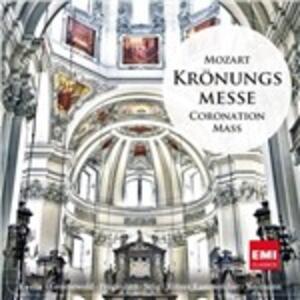 Messa dell'Incoronazione - CD Audio di Wolfgang Amadeus Mozart,Peter Neumann