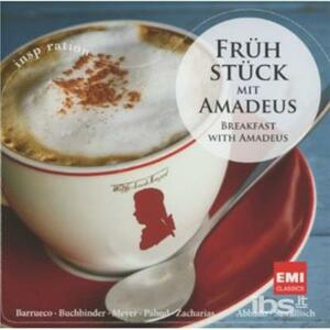 Breakfast with Amadeus - CD Audio di Christian Zacharias