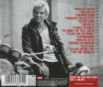 Unendlich - CD Audio di Matthias Reim - 2