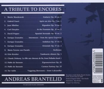 A Tribute to Encores - CD Audio di Bengt Forsberg,Andreas Brantelid - 2