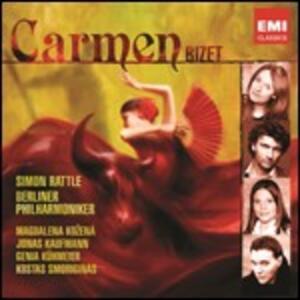 Carmen - CD Audio di Georges Bizet,Magdalena Kozena,Jonas Kaufmann,Berliner Philharmoniker,Simon Rattle