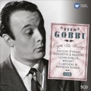 Icon. Tito Gobbi - CD Audio di Tito Gobbi