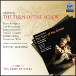 Il giro di vite (The Turn of the Screw) - CD Audio di Benjamin Britten,Ian Bostridge,Joan Rodgers,Daniel Harding,Mahler Chamber Orchestra