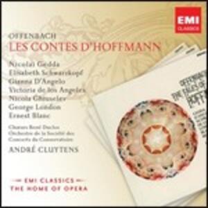 I racconti di Hoffmann (Les contes d'Hoffmann) - CD Audio di Jacques Offenbach,André Cluytens,Nicolai Gedda,Elisabeth Schwarzkopf,Victoria De Los Angeles